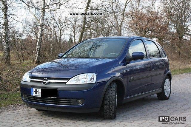 Mercedes Benz Rims >> 2003 Opel Corsa 1.2 16V Elegance - Car Photo and Specs
