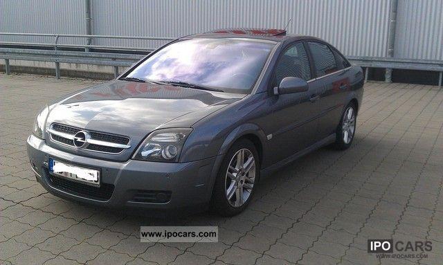 2003 Opel  Vectra 2.0 Turbo GTS Limousine Used vehicle photo