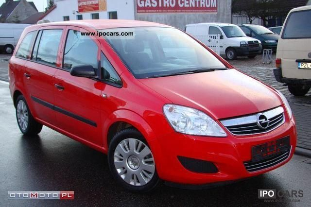 2009 Opel  Zafira 1.6 LIFTING Z Niemiec ZADBANY Van / Minibus Used vehicle photo