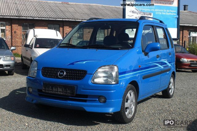 2002 Opel  Agila 1.2 16V AIR HU / AU 09/2013 Small Car Used vehicle photo