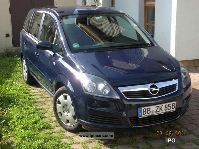2006 opel zafira 1 9 cdti edition car photo and specs. Black Bedroom Furniture Sets. Home Design Ideas