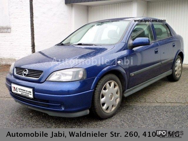 2004 Opel  Astra 1.6 Njoy Limousine Used vehicle photo