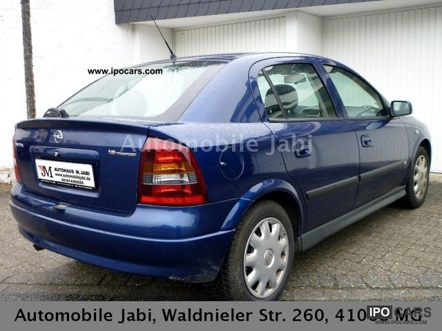 2004 opel astra 1 6 njoy car photo and specs. Black Bedroom Furniture Sets. Home Design Ideas
