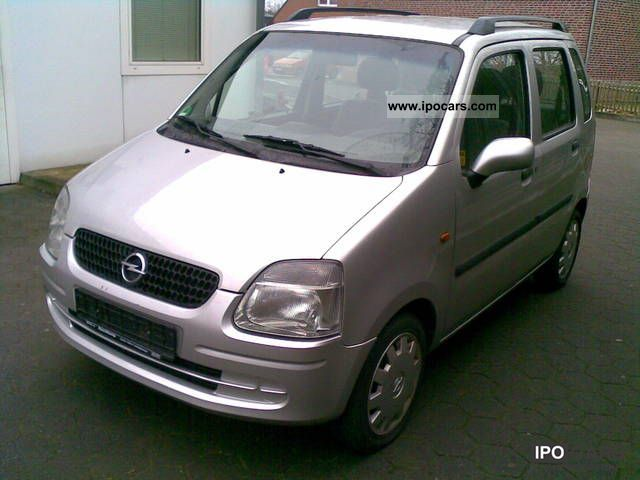 2001 Opel  Agila 1.2 16V Air Conditioning - € 4 standard Small Car Used vehicle photo