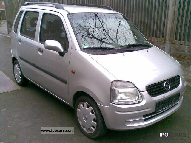 2001 opel agila 1 2 16v air conditioning 4 standard car photo and specs. Black Bedroom Furniture Sets. Home Design Ideas