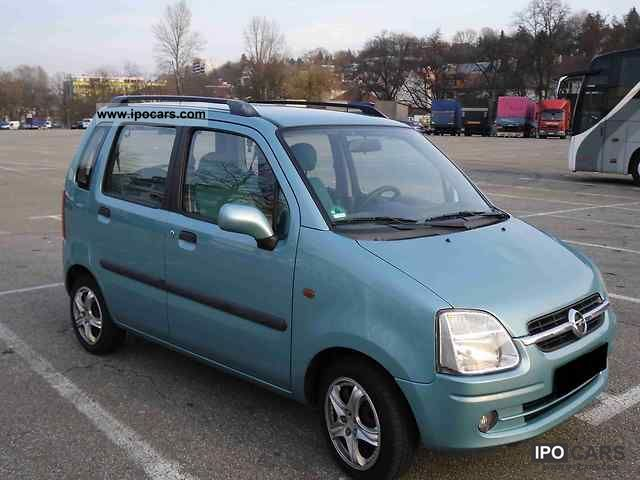 2002 opel agila 1 2 16v comfort car photo and specs. Black Bedroom Furniture Sets. Home Design Ideas