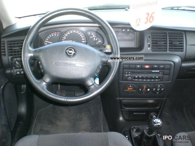 Vectra 2002 Interior 2002 Opel Vectra 1.6 Selection
