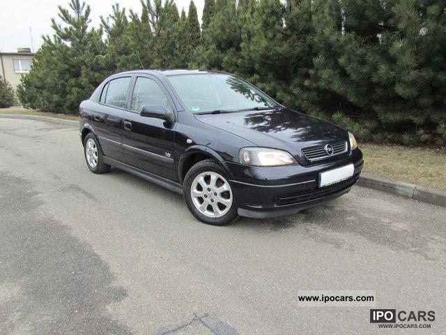 2003 Opel  Astra CLIMATE, ALUMINIUM, BEZWYPADKOWY Small Car Used vehicle photo