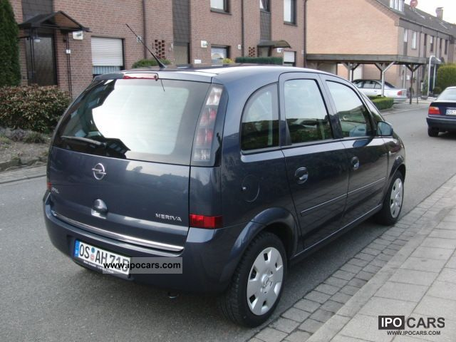 2009 opel meriva 1 6 16v edition car photo and specs. Black Bedroom Furniture Sets. Home Design Ideas