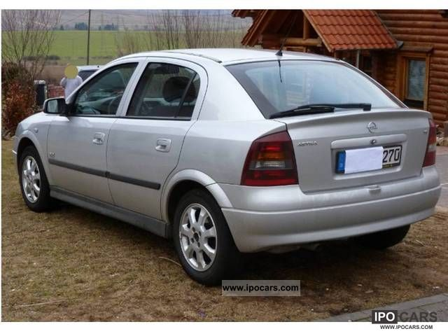 2003 Opel Astra 1 6 Njoy Car Photo And Specs
