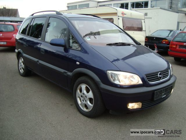 2000 opel zafira 2 2 16v edition 2000 euro 4 standard