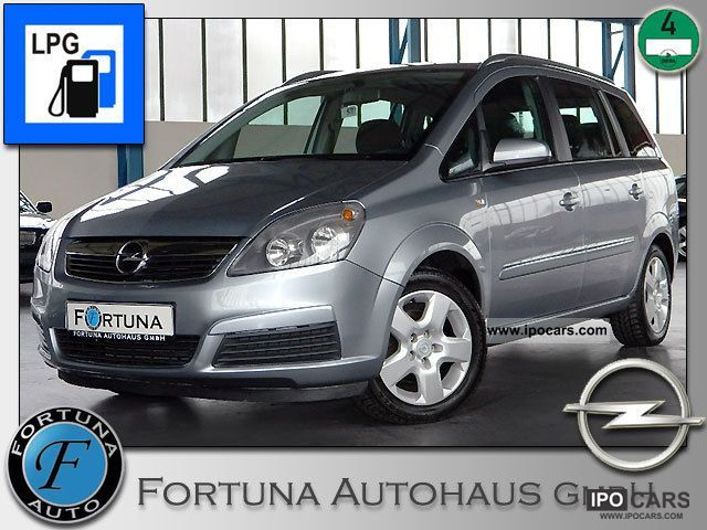 Opel  ZAFIRA 1.6 * LPG gas system * 7 seats * Klimaaut. * 1.Hd * 2006 Liquefied Petroleum Gas Cars (LPG, GPL, propane) photo