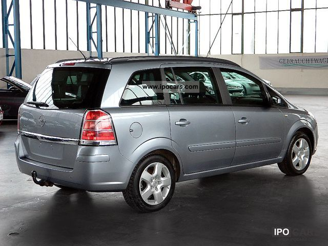 2006 opel zafira 1 6 lpg gas system 7 seats klimaaut 1 hd car photo and specs. Black Bedroom Furniture Sets. Home Design Ideas
