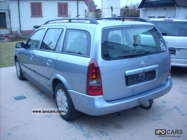 2003 opel astra 1 6 caravan car photo and specs. Black Bedroom Furniture Sets. Home Design Ideas