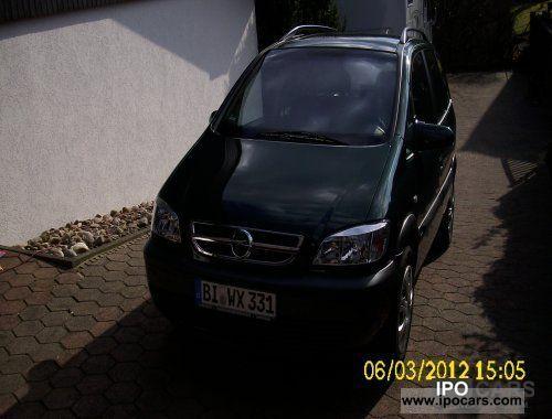 2004 Opel  Zafira 1.8 Van / Minibus Used vehicle photo