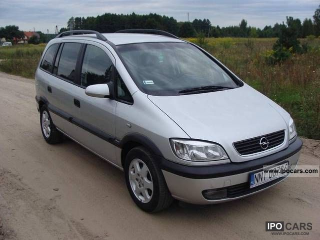 Opel  Zafira OKAZJA 2003 Liquefied Petroleum Gas Cars (LPG, GPL, propane) photo