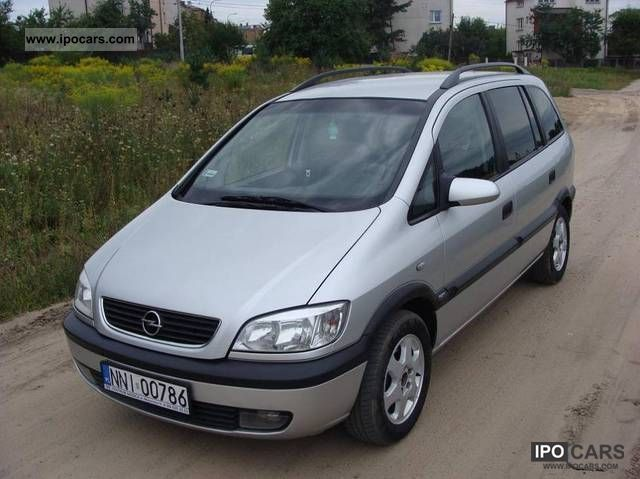 2003 opel zafira okazja car photo and specs. Black Bedroom Furniture Sets. Home Design Ideas