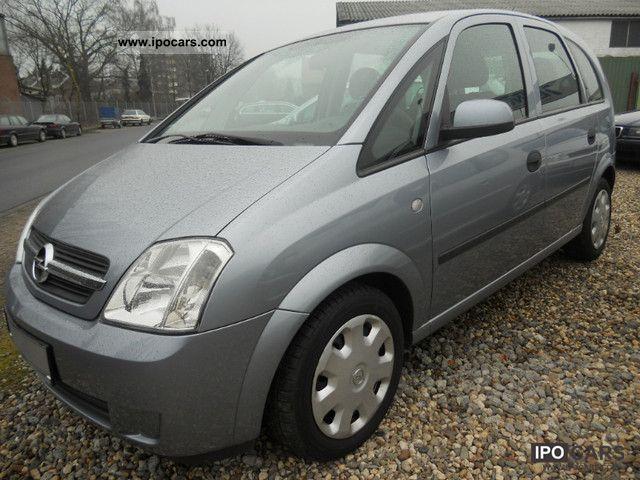 2004 Opel Meriva 1.4i Twin Port - Car Photo and Specs