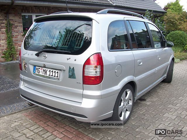 2004 opel zafira 2 2 edition car photo and specs. Black Bedroom Furniture Sets. Home Design Ideas