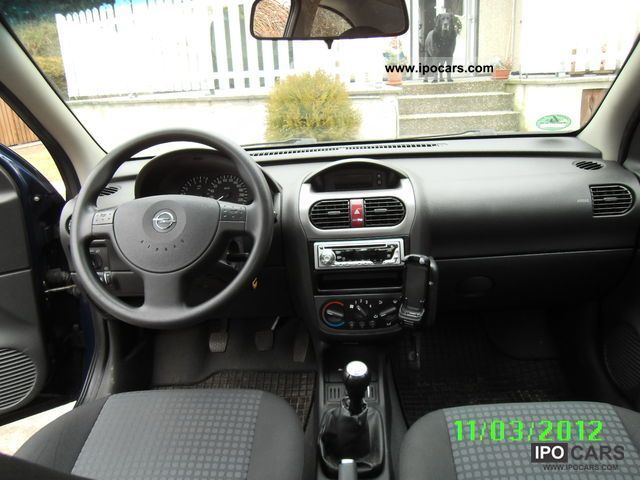 2003 opel corsa 1 2 16v enjoy car photo and specs. Black Bedroom Furniture Sets. Home Design Ideas