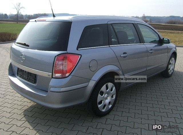 2008 Opel Astra 1 6 Caravan Innovation Top Car Photo