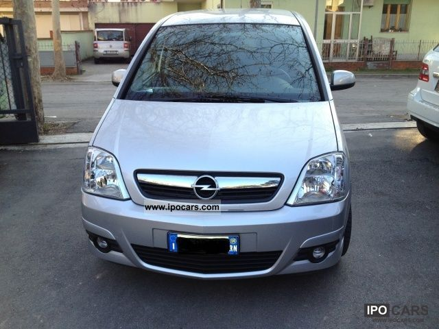 2008 opel meriva 1 4 16v cosmo car photo and specs. Black Bedroom Furniture Sets. Home Design Ideas