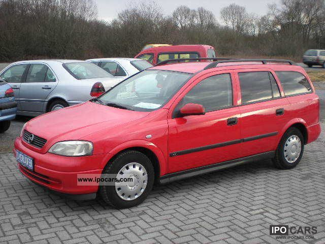 2000 Opel  Astra Caravan 1.7 DTI climate / APC / Yellow Badge Estate Car Used vehicle photo