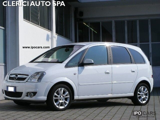 2008 opel meriva 1 8 16v cosmo easytronic navi ottime co car photo and specs. Black Bedroom Furniture Sets. Home Design Ideas