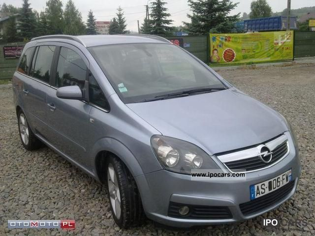 2005 opel zafira 1 9 cdti 120km 7 bedded car photo and specs. Black Bedroom Furniture Sets. Home Design Ideas