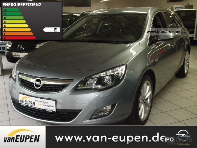 2011 Opel  Astra J Sports Tourer innovation - Air Car, aluminum Estate Car Demonstration Vehicle photo