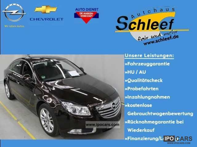 2011 Opel  Insignia 5 TRG innovation Navi Xenon Limousine Used vehicle photo