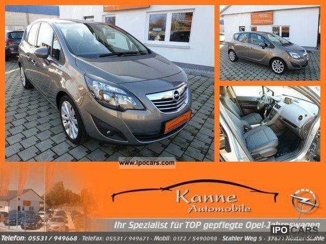 2010 Opel  Meriva B 1.4 + Innovation + CD500Navi Visibility Package! Van / Minibus Used vehicle photo
