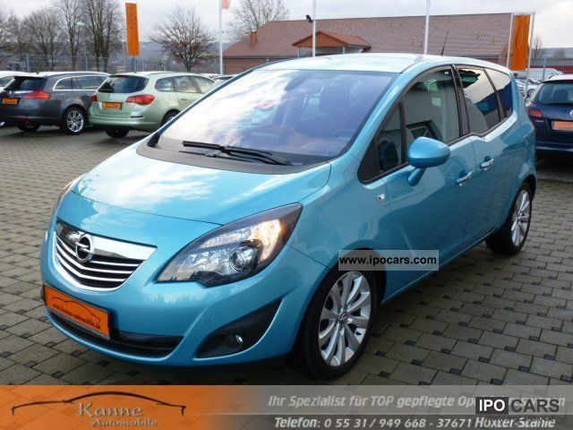 2011 opel meriva 1 7 cdti innovative leather upholstery dvd800 car photo and specs. Black Bedroom Furniture Sets. Home Design Ideas