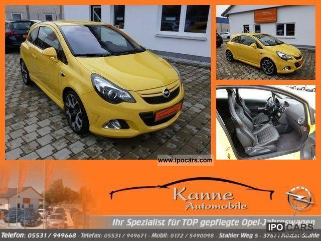 2011 Opel  Corsa OPC 1.6 turbo facelift Navigation + Leather + Alu 18 Small Car Employee's Car photo