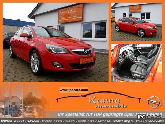 2011 Opel  Astra 1.6 turbo innovation J + Leather + Navi + Xenon + Al Limousine Employee's Car photo