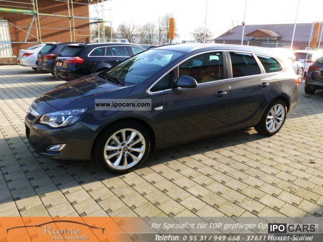 2011 Opel Astra J 2.0 Hdi ST + Innovation + DVD800Navi Parkpi - Car Photo and Specs