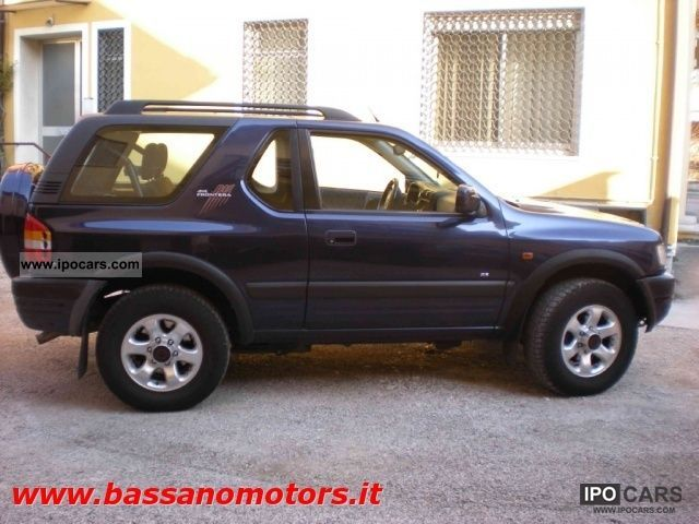 1998 Opel  Frontera 2.2 DTI 16V 3 porte Sport Other Used vehicle photo