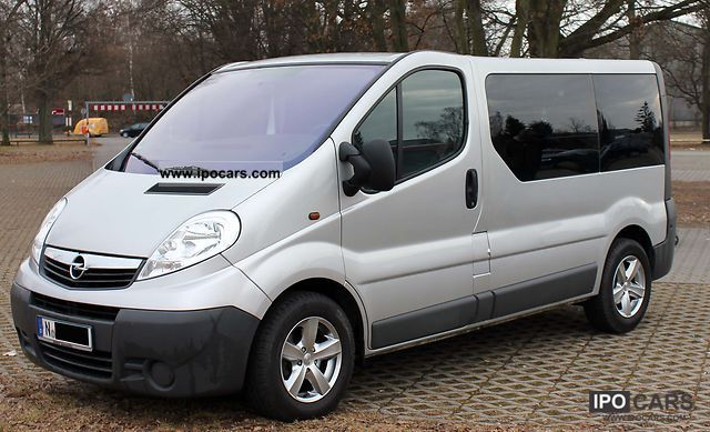 2007 Opel Vivaro 2 5 Cdti Station Wagon Car Photo And Specs
