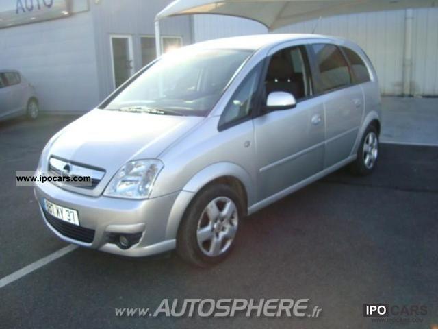 2008 Opel  Meriva 1.6 Enjoy Twinport Limousine Used vehicle photo