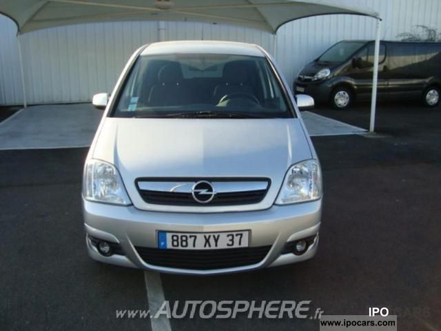 2008 opel meriva 1 6 enjoy twinport car photo and specs. Black Bedroom Furniture Sets. Home Design Ideas