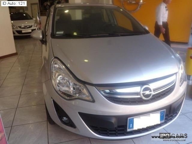 2011 opel corsa 1 3 cdti 75 cv f ap 5p elective car photo and specs. Black Bedroom Furniture Sets. Home Design Ideas
