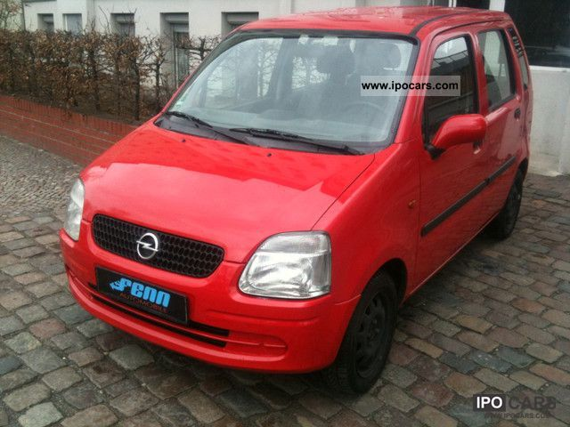 2001 opel agila 1 0 12v euro 4 90000km car photo and specs. Black Bedroom Furniture Sets. Home Design Ideas