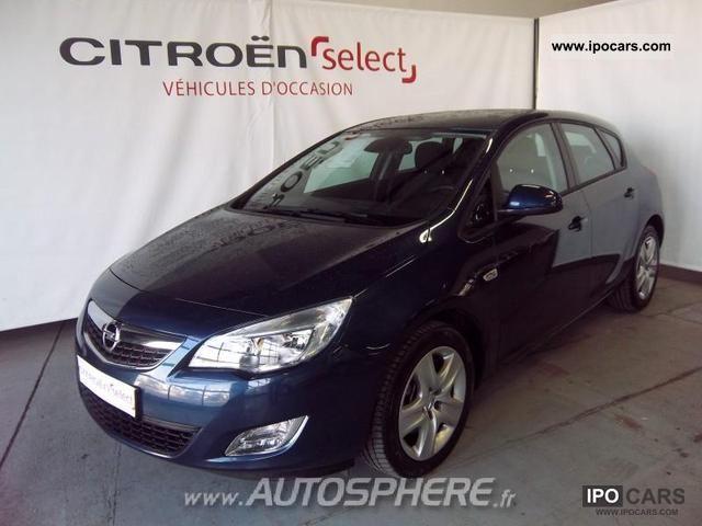 2011 Opel  Astra 1.7 Enjoy FAP CDTI110 Limousine Used vehicle photo