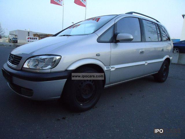 2004 Opel  Zafira 2.0 DTI ELEGANCE Van / Minibus Used vehicle photo