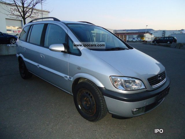 2004 opel zafira 2 0 dti elegance car photo and specs. Black Bedroom Furniture Sets. Home Design Ideas