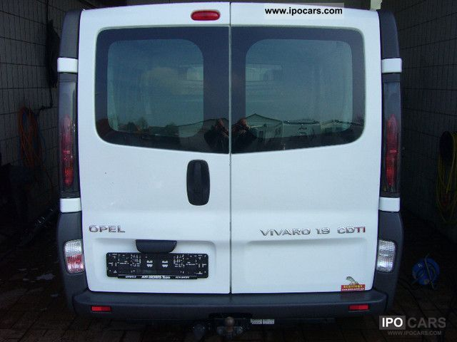 2004 Opel  Vivaro 1.9 CDTI vans VAT reclaimable Other Used vehicle photo
