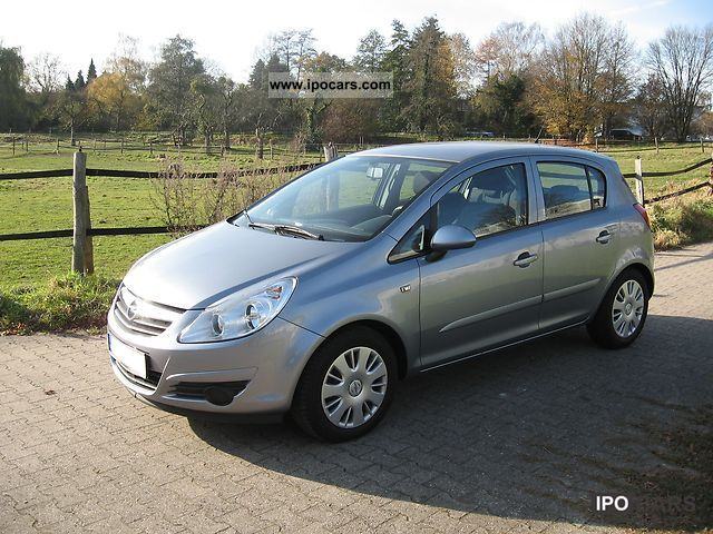 2007 opel corsa 1 2 16v car photo and specs. Black Bedroom Furniture Sets. Home Design Ideas