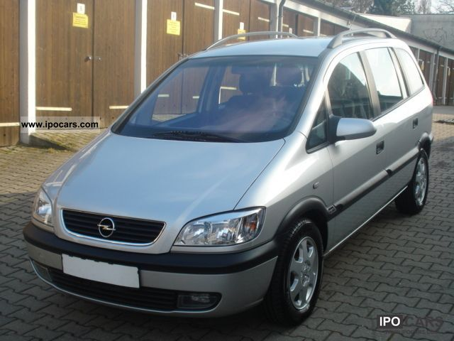 2002 opel zafira 1 8 elegance 7xsitzer climate car photo and specs. Black Bedroom Furniture Sets. Home Design Ideas