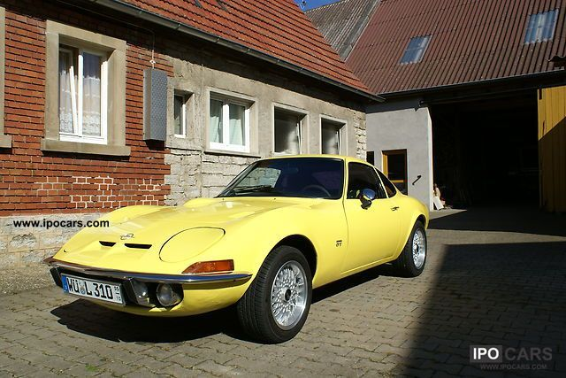 1970 opel gt car photo and specs. Black Bedroom Furniture Sets. Home Design Ideas