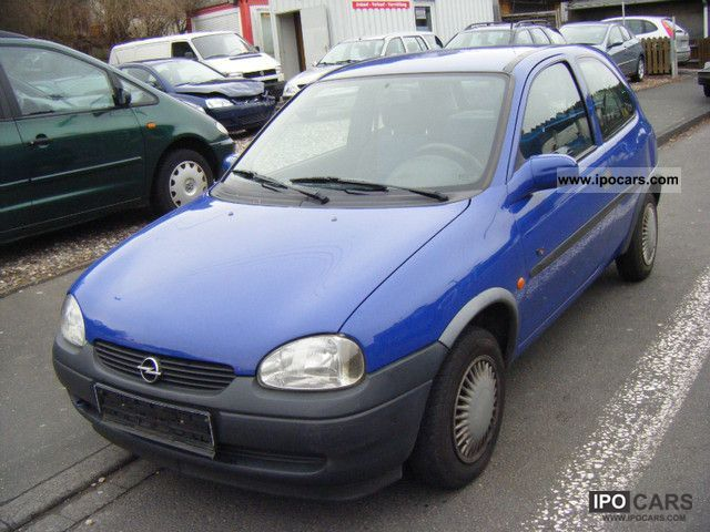 1998 opel corsa 12v viva servo d 4 tuv 08 2013 cat small car used pictures. Black Bedroom Furniture Sets. Home Design Ideas